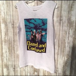 Tops - Dazed and Confused Graphic tank top Sz L